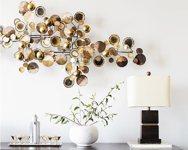 live Metallic Wall Art